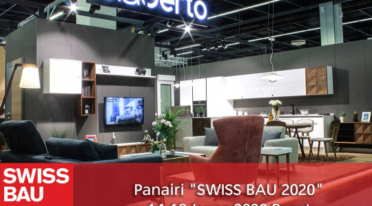 Participation in the SWISSBAU fair based in Basel, Switzerland